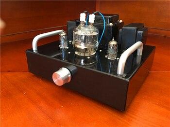 Mini Tube Ampli   Mini 6J1 Push FU32 HiFi Tube Amplificateur Kit De Bricolage 3.5W + 3.5W Stéréo Audio Vide Tube Amp