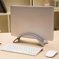 Arc Shaped Laptop Storage Holder Aluminum Alloy Anti Slip Silicone Tablet Desk Bracket For Office Home
