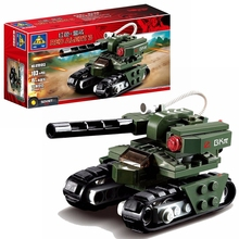 103pcs building block tank Soviet military tank compatible with leading brick red alarm 3 hammer toy Christmas gift gudi 372pcs soviet t 62 main battle tanks military building block set 3 figure kids war game toy compatible