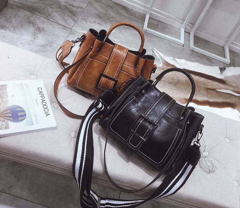 New European and American style vintage PU women handbag shoulder bag messenger bag 93