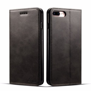 Image 2 - Luxury Leather Wallet Case for iPhone XS Max XR X 7 8 6 6s Plus Flip Card Slot Cover for Samsung S9 Plus Note 9 Coque Fundas Bag