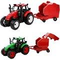 Feliz de la cereza niños niños agricultor con tractor truck toys set regalos para muchachas de los bebés modelo cars juguete