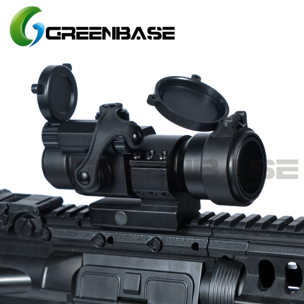 Greenbase Tactical M2 Style Red Dot Sight 1X32 Reflex Collimator Scope 5 MOA Low Mount W
