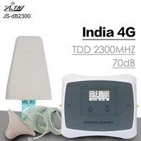 Smart 4G LTE усилитель сигнала 70dB усиления двухдиапазонный мобильный телефон усилитель сигнала LTE 2300 сотовый телефон повторитель сотового сигна