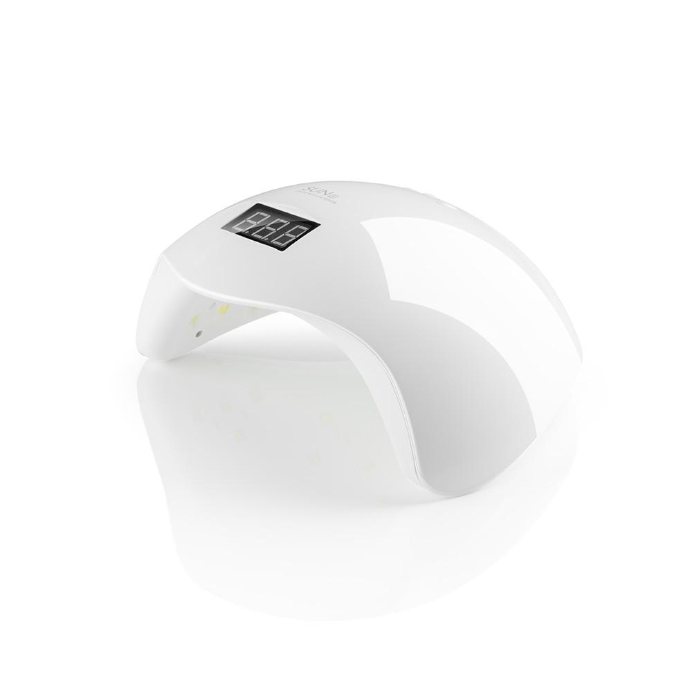 SUN5 Nail Dryer 48W Professional SUN UV LED Lamp Nail with LCD display Polish Machine for Curing Nail Gel Art Tool SUNUV Brand