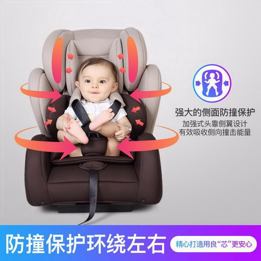 Child safety seat car baby car seat 9-12 years old 3C certified chair and baby stroller combination gift SY-215-3 child safety seat car baby car seat 9 12 years old 3c certified chair and stroller combination set sy 215 5