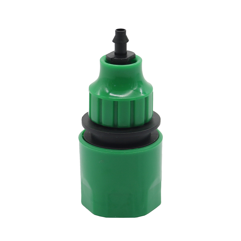 1 Pc Garden Water Quick Coupling 1/4 Inch Hose Quick Connectors Garden Pipe Connectors Homebrew Watering Tubing Fitting(China)