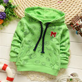 Children Cute Clothing Spring Autumn Korean Style Boy Cotton Cartoon Outwear Kid Emoji Hoodies Thin Sweatshirts KT016B