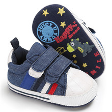 Jeans Blue Infant Toddler Newborn Booties Boy Sport Sneakers Baby Soft Sole Shoes Bebe Prewalker First Walkers Boots