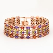 Bracelet Multicolor Cluster Party