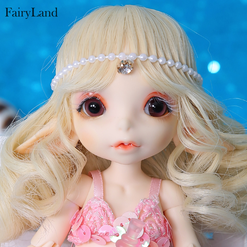 Fairyland realfee Mari mermaid 1 7 BJD Dolls Resin SD Toys for Children Friends Surprise Gift