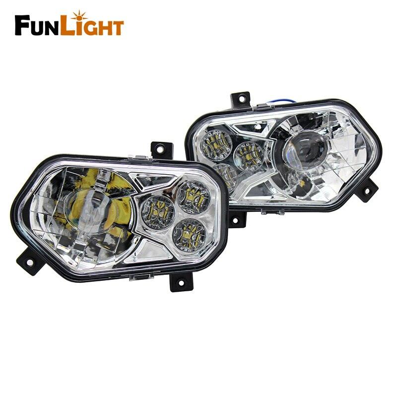 2017 New Product Polaris ATV LED Headlight Kit For 2008 ...