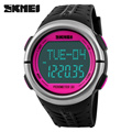 SKMEI Fitness Digital Watch Men Women Sports Watches Pedometer Heart Rate Monitor Calories Counter Outdoor Casual LED Wristwatch