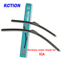 Car Windshield Wiper Blade For Kia Soul Rio Sorento Sportage R K5 Venga Optima Natural Rubber