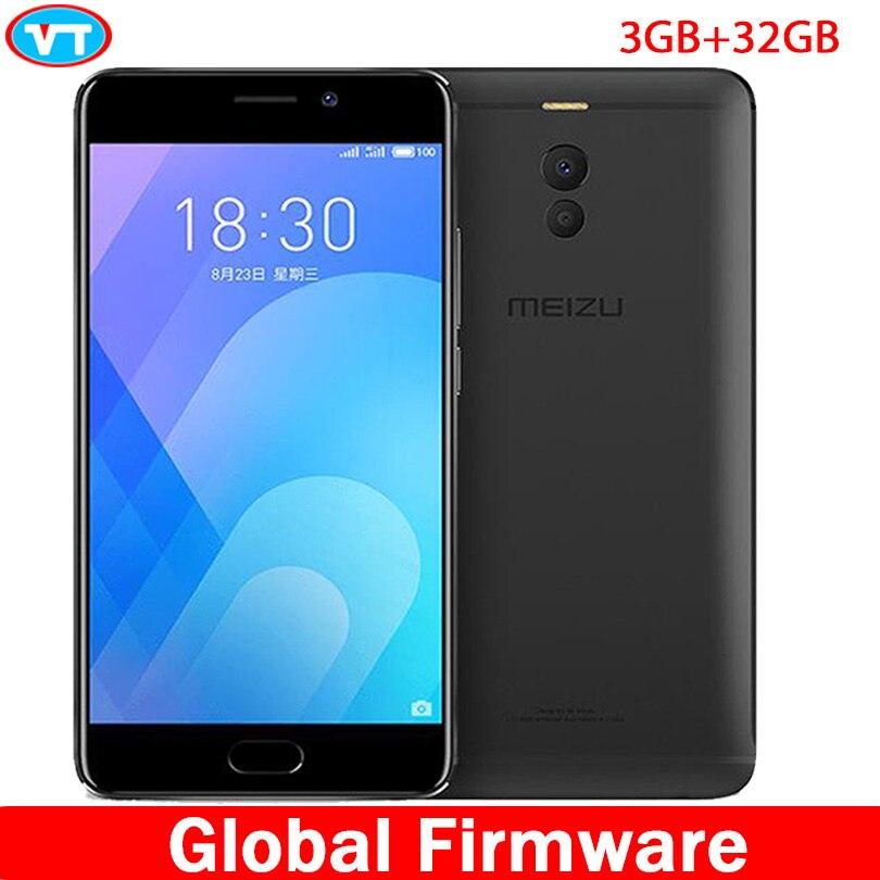 Meizu M6 Note 6 global firmware 3GB RAM 32GB ROM 4G LTE Snapdragon 625 Octa Core