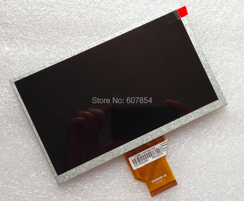 New Original 7 inch Tablet LCD Screen 3mm AT070TN90 20000938-30 Teclast PT76I P75A Gemei G3 KO M18 Ramos T18 LCD Replacement купить