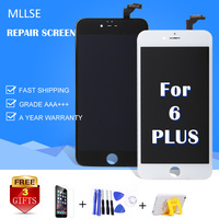 1PCS AAA Display For IPhone 6 Plus 6P LCD Screen With Touch Digitizer Pantalla Assembly Replacement