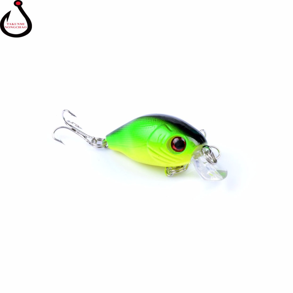 1Pcs 5.5cm 8.4g Crank Fishing Lures Hard Bait Minnow Fishing Lure Bass Crankbait Swimbait Trout Baits with 8# hooks Tackle WS-47 new 12pcs 7 5cm 5 6g fishing lure minnow hard bait sea fishing tackle crankbait fishing kit jig wobbler lures bait with hooks