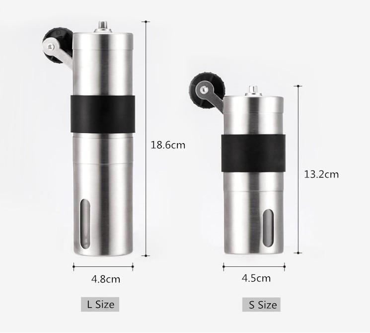 Image 2 - Кофемолка керамическая, ручная, 2 размераРучные кофемолки   -