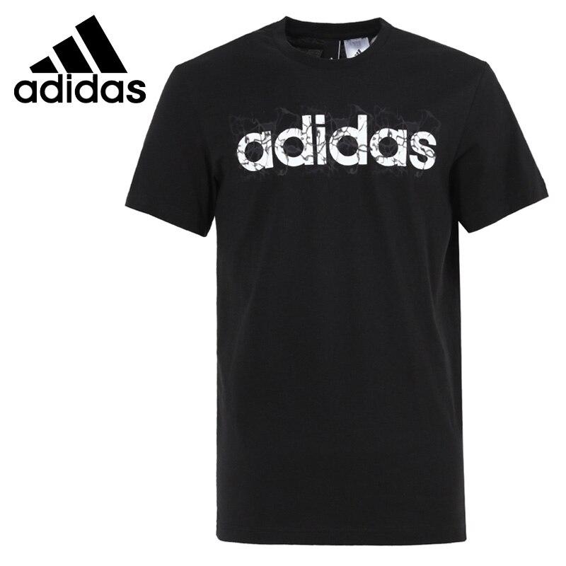 Prix pour Original Nouvelle Arrivée 2017 Adidas Linéaire D'été Hommes T-shirts à manches courtes de Sport