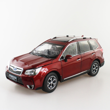 New Red 1/18 FORESTER 2015 Die-Cast Model Car Miniature Model  SUV Off Road Vehicle Out of Print Model