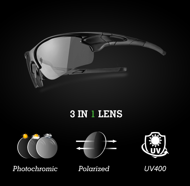 0c91d08c5b Gafas de bicicleta polarizadas ROCKBROS MTB ciclismo gafas de sol ...