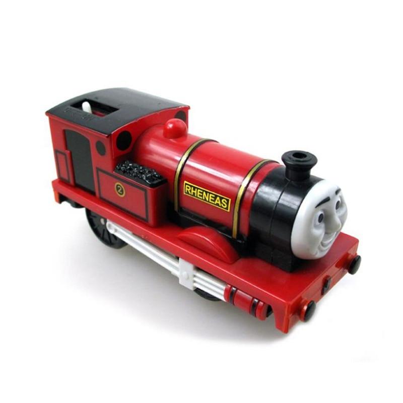 x134 electric red Rheneas Thomas and friend Trackmaster motorized train engine Children child present children s
