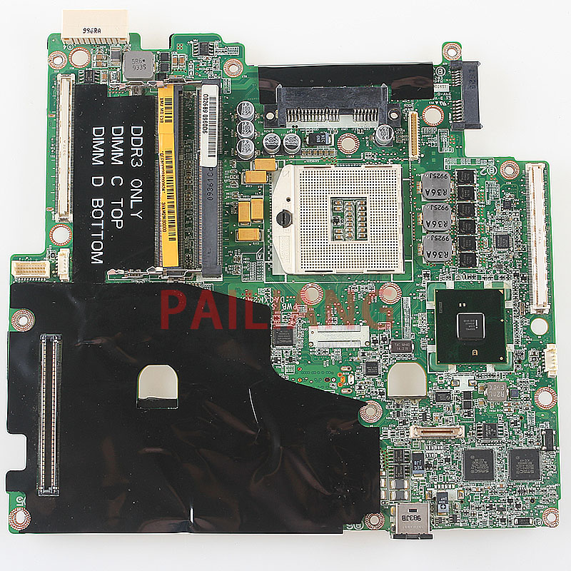 PAILIANG Laptop motherboard for DELL M6500 PC Mainboard 0GNN2M full tesed DDR3 m6500 laptop motherboard 5% off sales promotion fulltested