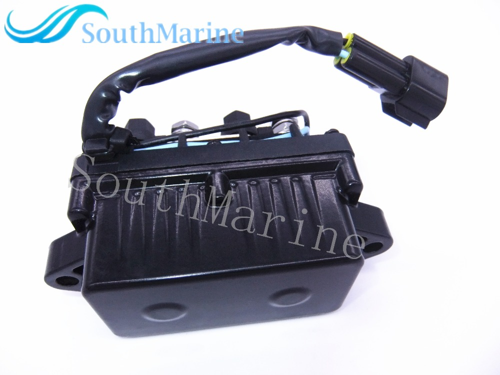 3 Pins Terminal Relay Assy for Yamaha 25HP-250HP ET PPT Outboard Motor Boat Motor Trim Tilt Relay Replaces# 61A-81950-01-00,61A-81950-00-00