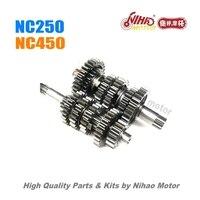 3 NC250 части главного вала муфты вала (5 передач) ZONGSHEN двигатель NC ZS177MM (Nihao мотор) Кайо Asiawing Xmoto