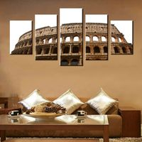 WM1717 Canvas Colosseum In Rome Photograph Poster HD Print Wall Art For Home Decoration Picture Painting