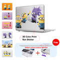 Purple Minions Laptop Cover For Macbook Pro 13 Retina Case Crystal Matte Surface Hard Cover For Mac Book Pro 15 Retina Case