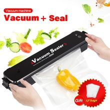 Portable Automatic Vacuum Sealer Machine Home Mufti-function Cooking Foods Saver Preservation Kitchen Tool EU/US/UK Plug