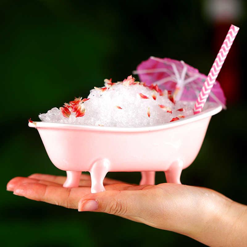 Originalità 3D Realistico Vasca Da Bagno Bicchiere Da Cocktail-G Tiki Bar bicchiere di Vino Charms Sorbetto Frullato Frullato Bevanda Fredda Occhiali Contenitore