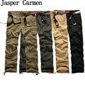 Envío Libre 2017 de Los Hombres Pantalones Casuales Pantalones Slim Fit Pantalones de Alta Calidad 4 Colores 52