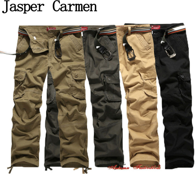 Free Shipping 2017 Men Casual Pants Trousers Slim Fit Pants High Quality 4 Colors 52