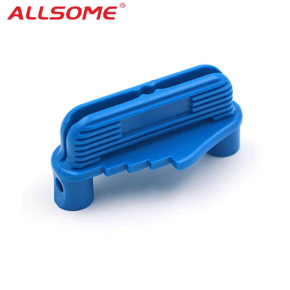 ALLSOME Hole Jig Locator Woodworking Guide Positioner Mark Center Line Tools HT2617+