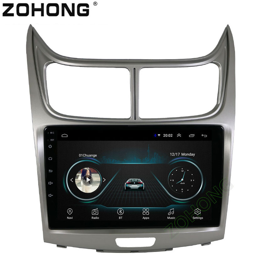 9 inch 2 5D Android 8 1 Car Multimedia Player For Chevrolet Sail 2010 2011 2012