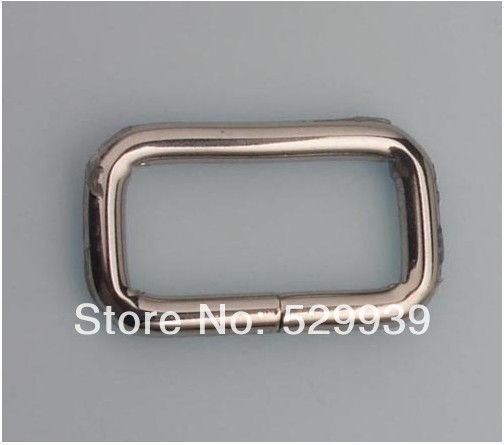32*17mm(1 1/4 inch) zinc alloy bags metal fitting hardware accessories square buckles,free dropship,hardware supplies 1 17