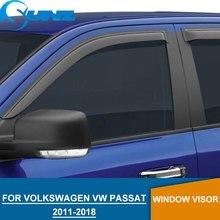for Volkswagen VW PASSAT 2011-2018 Window Visor for VW PASSAT SEDAN 2011 2012 2013 2014 2015 2016 2017 2018 Accessories SUNZ цена и фото