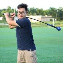Гольф Учебные пособия гольф качели тренер деформации баланс тренировки мышц высокой плотности EVA мягкие ручки обучение палка 2 цвета