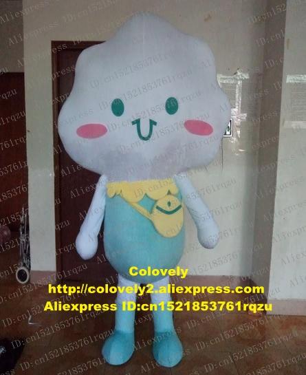 Costume de mascotte Algondon nuage Stratus Nuages pour adulte, personnage de dessin animé, Banque daccueil, grande taille, zz6849