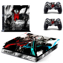 HOMEREALLY Stickers PS4 Skin Anime One Piece Sticker for Sony Playstation 4 Controller and Console Skin PS4 Accessory