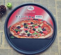 13 cal pizzy talerz non-stick Pan pieczenia formy metalowe formy ciasto Do Pizzy ze stali węglowej Pan
