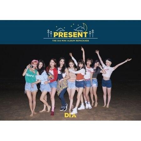 DIA 3rd Mini Album Repackage - PRESENT - Random Cover -  Release Date  2017.10.20 bigbang 2012 bigbang live concert alive tour in seoul release date 2013 01 10 kpop