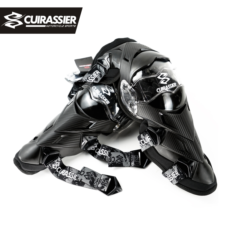 Cuirassier Protective Kneepad Motorcycle Knee Pads Protector MX Off-Road Motos Racing Elbow Guards Safety Gear Protection Brace ...