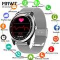 Мужские Смарт-часы MNWT  ЭКГ  ФПГ  электрокардиограф  монитор сердечного ритма  кровяного давления  фитнес-трекер  смарт-спортивные часы + коро...
