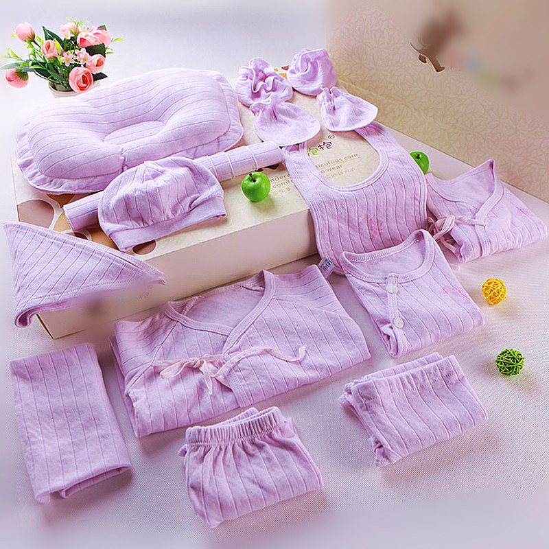 18pcs/set Newborn baby girl clothes 100% cotton infant clothing set baby boy clothes Cotton newborn baby Clothes baby boy clothes monkey cotton t shirt plaid outwear casual pants newborn boy clothes baby clothing set