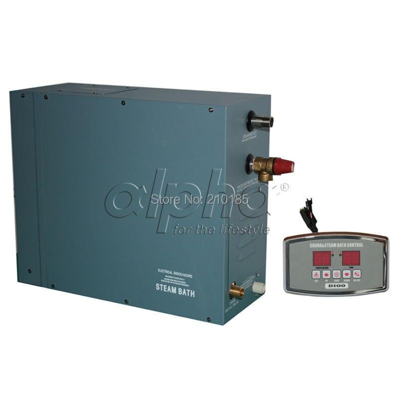6.0KW380-415 V 50 HZ 3 phase approvisionnement d'usine Professionnel Steam Generator Home SPA Douche Sauna Bain Esthétique Conception