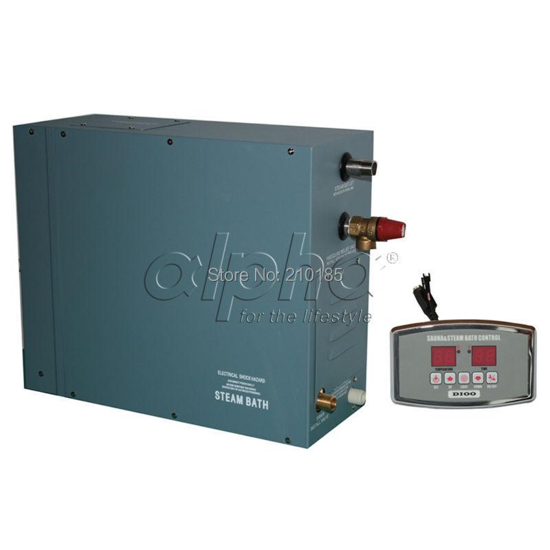 6.0KW380-415 V 50 HZ 3 phase rifornimento della fabbrica Professionale Generatore di Vapore Casa SPA Doccia Sauna Bagno di Design Estetico